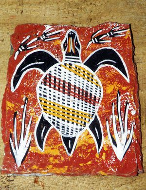 Aborigine sea turtle for vibrant jung thing blog