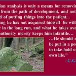 "Jungian Analysis, the Psychotherapist & ""Moving Stone"""