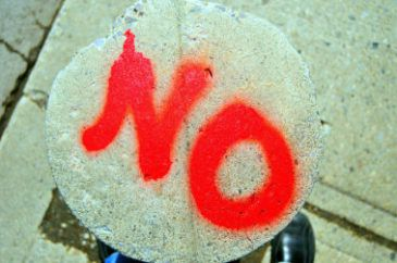 psychology of saying no
